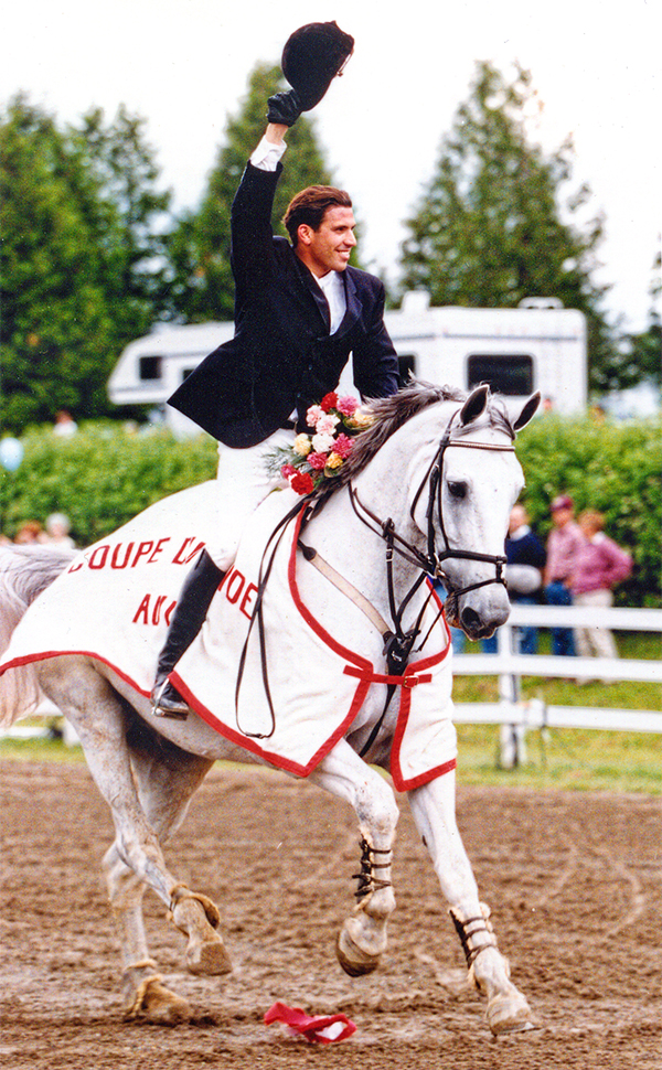 Olympian and veteran team rider Chris Delia has been producing champion  hunter jumper horses and riders on Ontario's 'A' circuit for over 20 years.